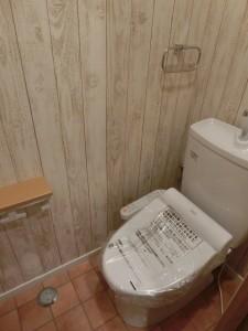 ウッディーなトイレ