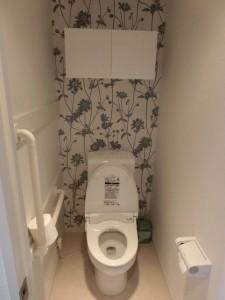 デザインクロスのトイレ